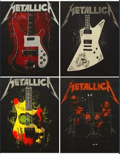 Metallica Guitars