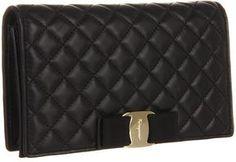Salvatore Ferragamo Quilted Vara Mini Wallet Bag Wallet Handbags - ShopStyle be09015dc6