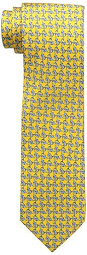 Tommy Bahama Men's Shark Bite Tie, Yellow, 1Size Men's Fashion -- Be sure to check out this awesome product.