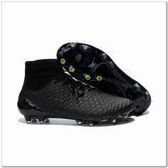 Nike Magista Obra FG Academy Black Pack All Black-Only $107.98