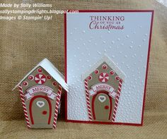 Stampin' Up!, Home Sweet Home stamp set & Sweet Home Thinlit Dies. Sally's Stamping Delights. Stampin Up