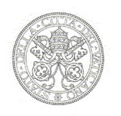 Seal of the State of Vatican City  Round: central field with the crossed keys and surmounted by the tiara, framed by four concentric circles  with a pearled external one, two by two.    Enclosing the epigraph: STATO DELLA CITTÀ DEL VATICANO,  with the beginning and the end at the bottom, separated by eight-pointed stars.
