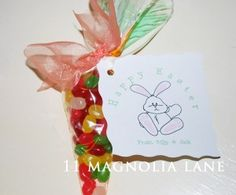 Free Easter Goodie Bag Printable