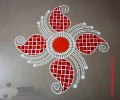 50 Kamada Ekadashi Rangoli Design (ideas) that you can make yourself or get it made during any occasion on the living room or courtyard floors. Easy Rangoli Designs Diwali, Rangoli Designs Latest, Simple Rangoli Designs Images, Rangoli Designs Flower, Free Hand Rangoli Design, Small Rangoli Design, Rangoli Border Designs, Rangoli Ideas, Rangoli Designs With Dots