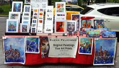 Right now..and everyday 10am till sundown pick up some cool art and smaller original paintings at City Hall Park by the Brooklyn Bridge entrance! :D #originapaintings #fineart #NYCtourists #NYCattractions #streetart #artists #souvenirs #foodtrucks #cityhallpark