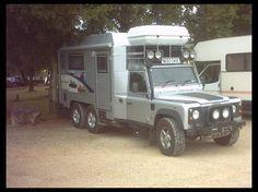 land rover camper - Page 6 Defender 90, Land Rover Defender, Defender Camper, Camper Caravan, Truck Camper, Camper Trailers, 6x6 Truck, Trucks, Automobile