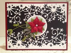 Working again from my Christmas pin board. Inspired by this…