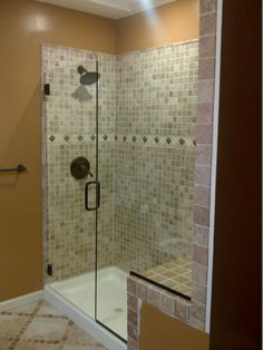 Call Binswanger Glass Kansas City @ to design and install custom shower enclosures to fit any space! Frameless Shower Enclosures, Custom Shower, Glass Shower Doors, Kansas City, Bathtub, Home, Design, Bath Tub