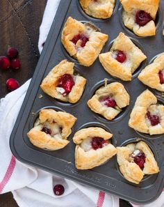 Looking for an easy but delicious last-minute appetizer? These Cranberry Brie Bites are made with just three ingredients and ready to go in 20 minutes!