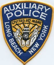 LONG BEACH NEW YORK AUXILIARY POLICE PATCH