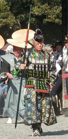Jidai-Matsuri (Jidai-festival)in Kyoto Japan. Muromachi-era costume.