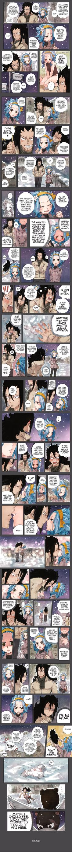 The Panty Incident - A continuation of the Christmas Special where Gajeel and Levy walk home and attempt to flirt with each other. Too caught into their world, they forgot they had company. made by Rboz   sketchy ✖ flavor