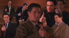 Image result for agent cooper