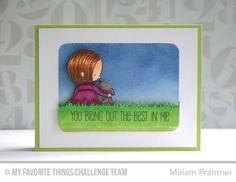 MFT Card Challenges: New Year - First Sketch Challenge!