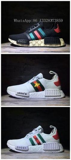 Adidas NMD Gucci Unisex shoes 36~45 WhatsApp 86 13328373859 WeChat e2shoes  Chuteiras 5f22f214d9ab5