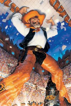 Pistol Pete really knows how to raise the roof!