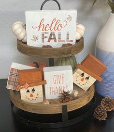 Wooden Pumpkins, Fall Pumpkins, Thanksgiving Decorations, Fall Decorations, Thanksgiving Parties, Office Decorations, Thanksgiving Crafts, Happy Thanksgiving, Seasonal Decor
