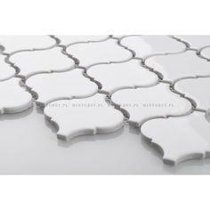 Mozaika MOROCCAN QUATREFOIL White Shine