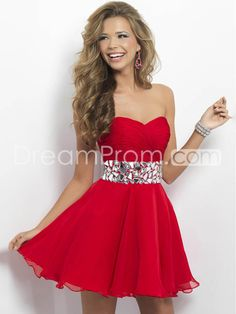 US $139.99 Free Shipping A-line Sweetheart Sleeveless Short/Mini Chiffon Homecoming Dresses/Short Prom Dress