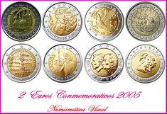 Euro Coins, Coin Art, Gold And Silver Coins, Coin Collecting, Correction Fluid, Tricks, Coins, Cavities, Money