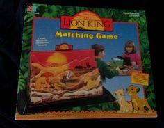 The Lion King Matching Game Looks New Simba Nala Zazu Mufasa Timon Pumba Disney #Disney