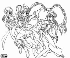 Best Mermaid Melody Coloring Pages