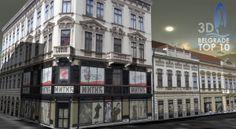 Belgrade downtown 3D