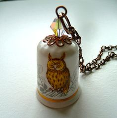 Owl Thimble