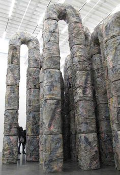 Installation by Phyllida Barlow