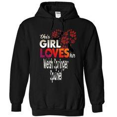 This Girl Loves Her WELSH SPRINGER SPANIEL T-Shirts, Hoodies (39.99$ ==► Order Here!)