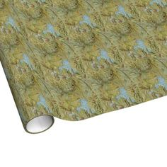 Vintage Map of Yellowstone National Park (1898) Gift Wrap Paper $16.95