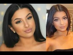 Kylie Jenner Inspired Makeup Tutorial | SUMMER 2015 | Makeup By Leyla - YouTube