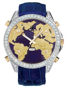 Five Time Zone Collection   Timepieces   Timepieces   Jacob and Co