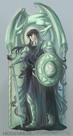 Dragon Lord by hiddenmuse on DeviantArt Anime Saint, Geeks, Rukia Bleach, Knights Of The Zodiac, Character Concept, Character Design, Fanart, Manga Characters, Anime Style