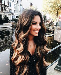 Brunette perfection.