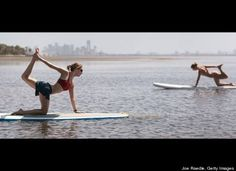 5 Surprising Mental Health Benefits From Yoga Mental Health Benefits, Health And Wellness, Health Fitness, Sup Stand Up Paddle, Sup Paddle, Paddle Board Yoga, Sup Yoga, Paddle Boarding, Yoga Meditation