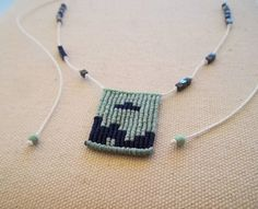 Items similar to Makrame tetris necklace green and blue with cubic black-silver beads. EGST on Etsy Macrame Necklace, Macrame Jewelry, Green Necklace, Handmade Items, Handmade Gifts, Micro Macrame, Silver Beads, Awesome, Amazing