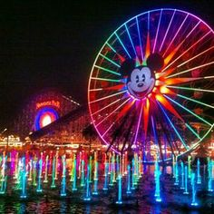 Disney California Adventure Park in Anaheim, CA - World of Color will get a makeover and we'll be there to see it! Disney California Adventure Park, California Travel, Disney Parks, Disney Land, Walt Disney, Disney Magic, Dream City, Disneyland Resort, Disney Vacations