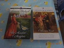 2 x Books by Lawana Blackwell-Tales of London Book 1&2 The Maiden of Mayfair,Cat