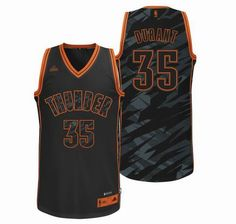 Oklahoma City Thunder 35  Kevin Durant black Fashion Swingman Jersey 24.5  Oklahoma  City Thunder ae802b500