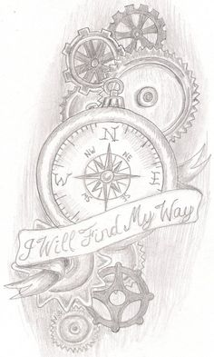 steam punk compass by jkucinic