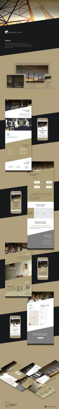 Website for XP Energia | B21 Branding Studio
