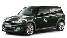 It's a Mini. It's a van. But it's not a minivan. It's the Mini Clubvan Concept.