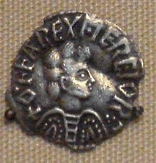 Offa, King of Mercia. Many historians regard Offa as the most powerful Anglo-Saxon king before Alfred the Great.