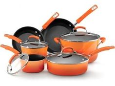 Rachel Ray Pots and Pans comes in all colors.