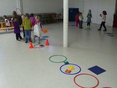 Ce mois-ci, nous avons découvert les ballons et fait de nombreux jeux collectifs (avec ou sans ballons). Nous avons tout d'abord découvert... Activity Games For Kids, Group Games For Kids, Ballons, Physical Education, Physics, Preschool, Kids Rugs, Tour, Ms
