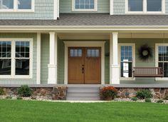 Pella® Proline Double-Hung Windows Craftsman Farmhouse