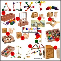 Epic Childhood: Froebel Gifts - The Original Spielgabe or Spielgaben