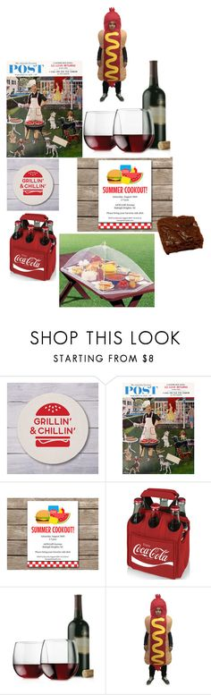 """""""Cook Out BBQ"""" by mollysmuses ❤ liked on Polyvore featuring interior, interiors, interior design, home, home decor, interior decorating, Picnic Time and Libbey"""