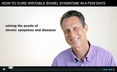 Watch my housecall video to learn how to cure irritable bowl syndrome (IBS) in just a few days. YES it's that easy!